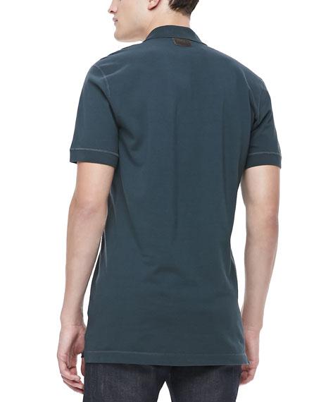 Logo Polo Shirt, Green