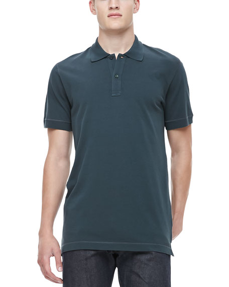Logo Polo Shirt, Green