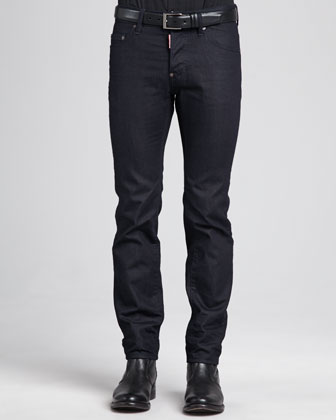 Dean Clean Denim Jeans, Navy