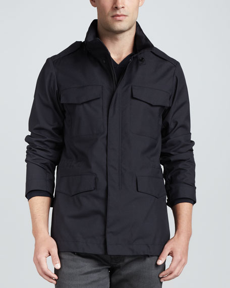 Four-Pocket Cargo Jacket