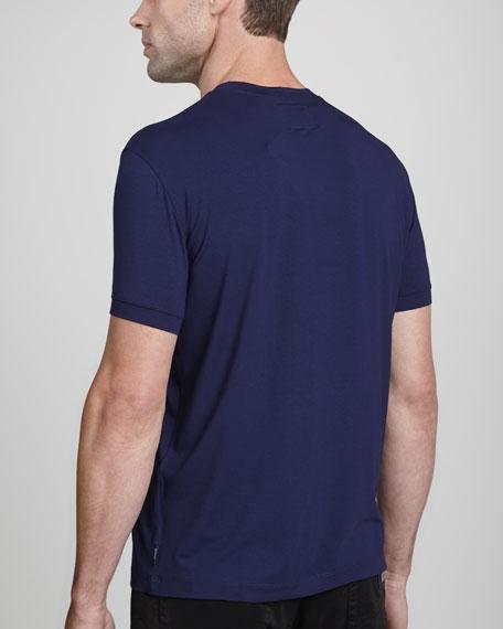 Short-Sleeve Jersey Tee, Blue