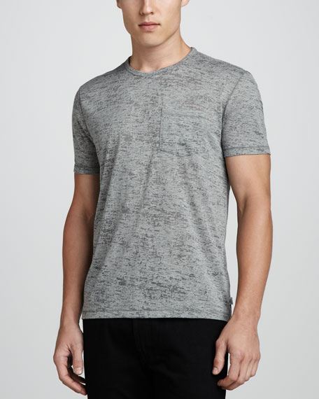 Burnout Crewneck T-Shirt