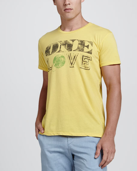One Love Printed T-Shirt