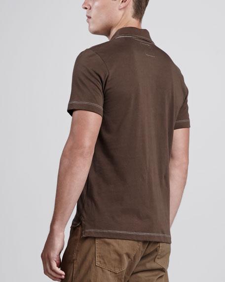 Pensacola Polo Shirt, Brown