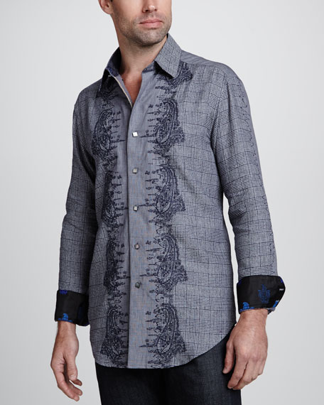 Limited Edition Crowne Sport Shirt, Multi