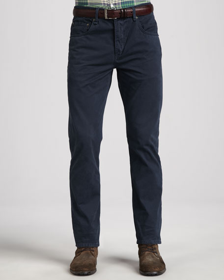 RB15 Twill 5-Pocket Pants, Navy