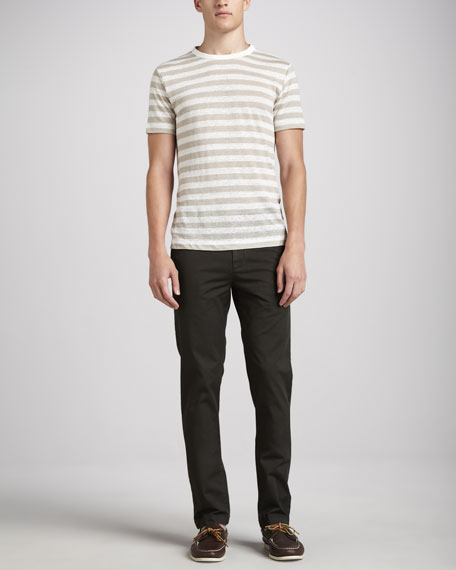 Stretch Chino Pants, Olive