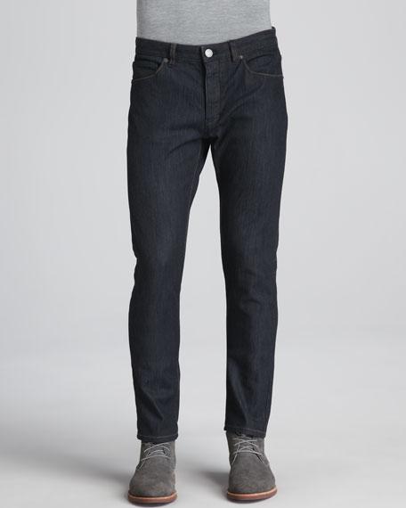 Stretch-Denim Jeans, Dark Blue