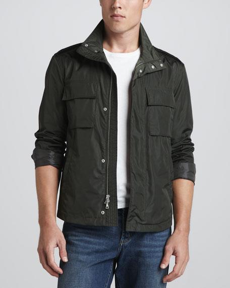 Waterproof Cargo Jacket, Green