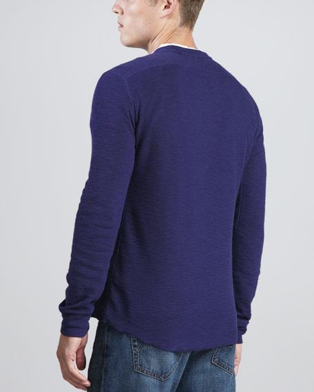 Long-Sleeve Thermal Shirt, Royal