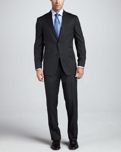 Ermenegildo Zegna Multiseason Two-Button Suit, Gray
