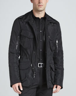 Ralph Lauren Black Label Cargo Escape Jacket, Black
