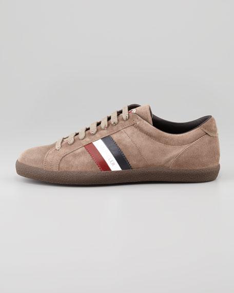 Monaco Low-Top Suede Sneaker, Brown