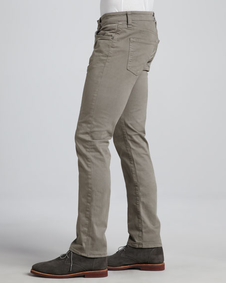 Kane Vacant Twill Pants, Dark Gray