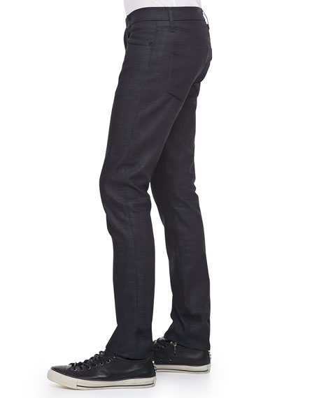 Tyler Slim-Fit Narrow Leg Jeans, Dark Blue