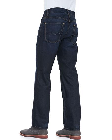Austyn Midnight Moon Five-Pocket Jeans, Navy