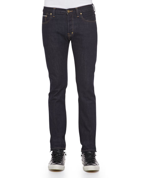 Rambler Slim-Fit Straight-Leg Jeans, 1YR Pressed Rinse