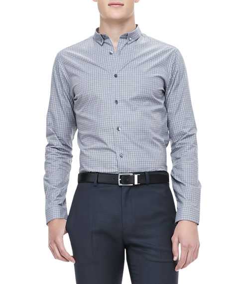 Stephan Marbury Grid Design Shirt