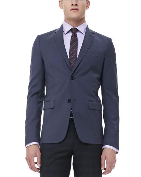 Notched-Lapel Sport Coat, Gray