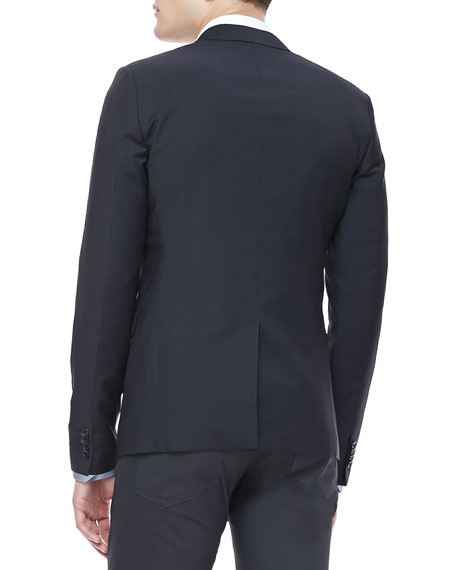 Tonal Check Sport Coat, Eclipse