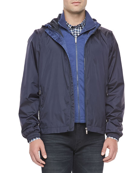 5-in-1 Jacket with Detachable Vest, Navy