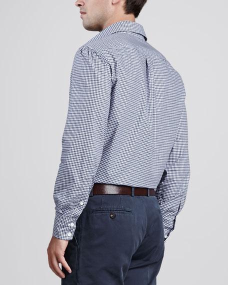 Bicolor Twill Check Shirt