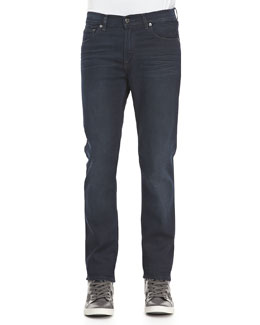 Acne Studios Ace Soft Blue-Black Five-Pocket Jeans