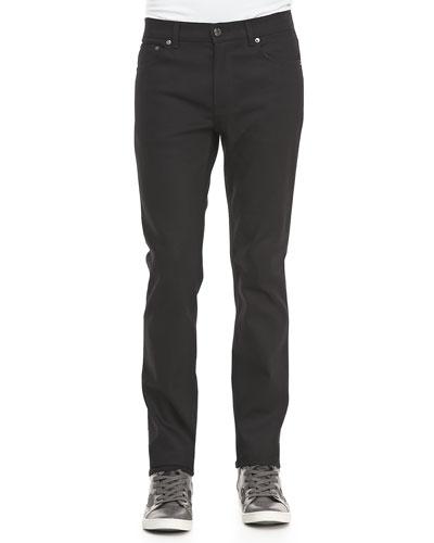 Acne Studios Ace Cash Five-Pocket Jean, True Black