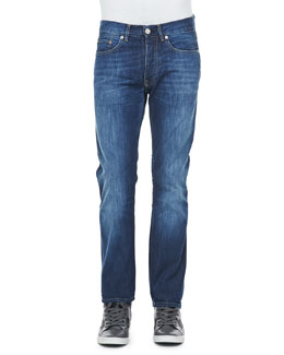 Acne Studios Roc Verakai Slim Fit Jeans, Blue