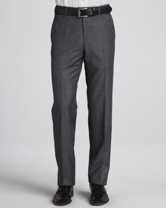 Sharkskin Trousers, Charcoal