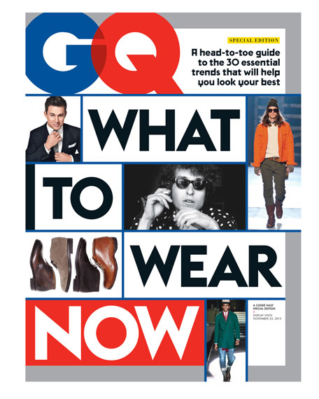 GQ Special Edition What to Wear Now Issue