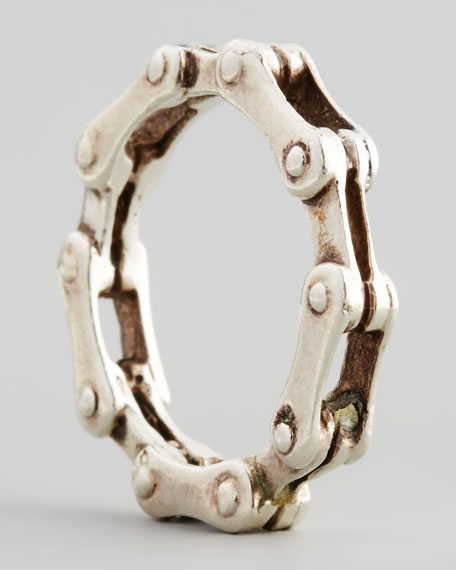 Silvertone Bike-Chain Ring