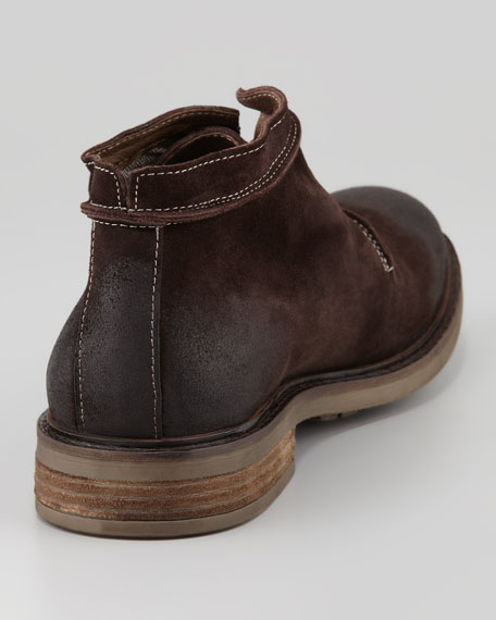 Kongo Suede Chukka Boot, Coffee