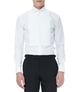 Ralph Lauren Black Label Tuxedo Shirt, White