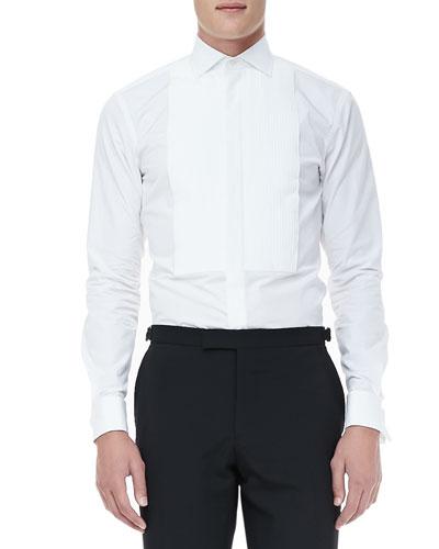 Ralph Lauren Black Label Tuxedo Shirt, White