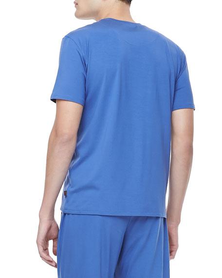 Basel 1 Royal Men's Tee, Blue