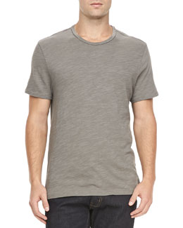 Rag & Bone Basic Crew Tee, Charcoal