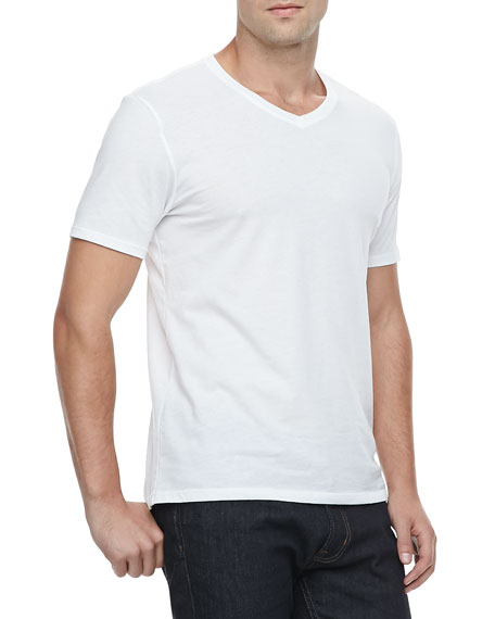 Favorite V-Neck T-Shirt, White
