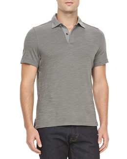 Rag & Bone Basic Polo, Charcoal