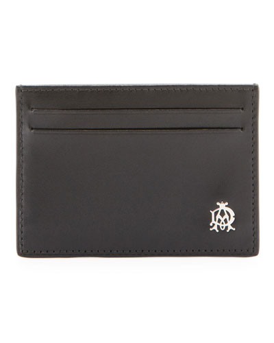 Alfred Dunhill Wessex Simple Card Case, Black