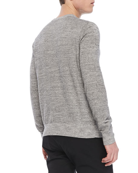 Riland X Sweater in Palomer, Dark Gray