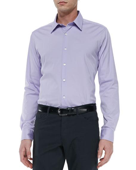 Sylvain Sport Shirt, Lavender