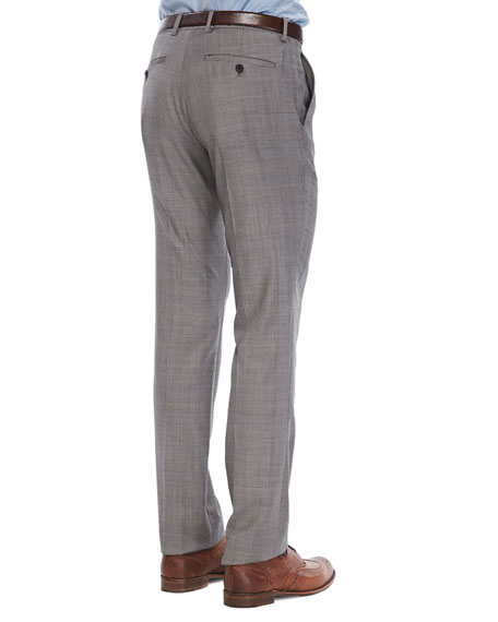 Marlo Pants in Lenton Wool, Beige