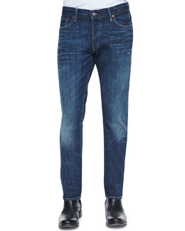 Ralph Lauren Black Label Slim Distressed Jeans
