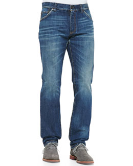 Dolce & Gabbana Medium Blue Denim Jeans