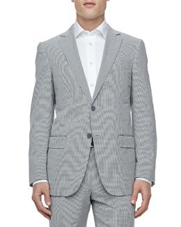 Ermenegildo Zegna Two-Button Jacket, Gingham