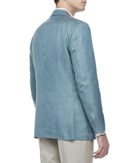 Two-Button Jacket, Patrol Blue