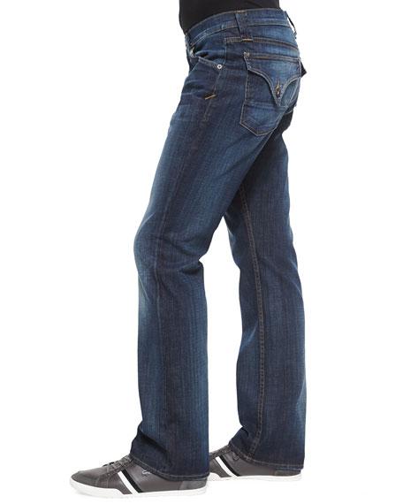 Weber Button-Flap Pocket Jeans, Legend