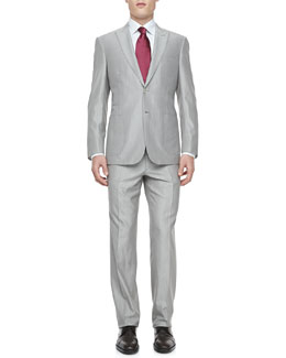Brioni Fine Line Two-Piece Suit, Tan