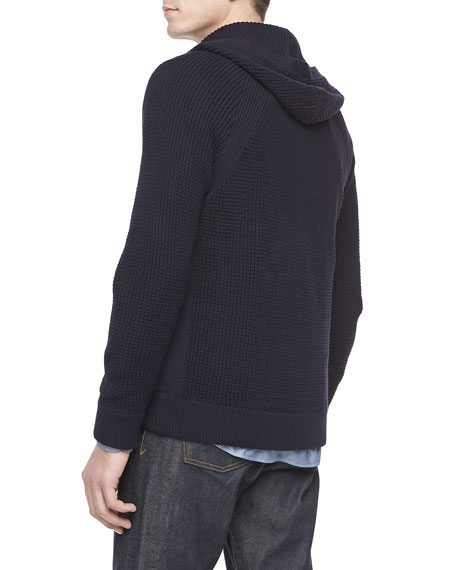 Coastal Thermal Hoodie, Navy